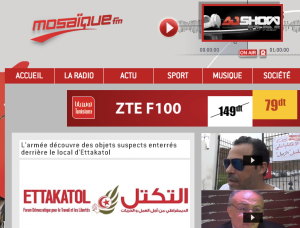 Website Radio Mosaïque