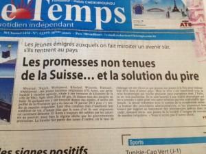 Schweiz Schlagzeile