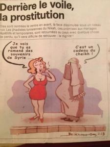"Jihad Nikah - Karikatur ""La Presse"""