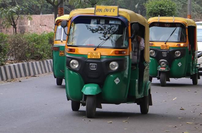 Auto-Rickshaw in New Delhi