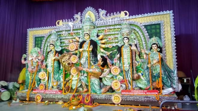 Durga Puja, pandal